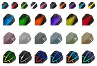 30 Harrows Dart Flights Fusion Carbon Retina Atomic Quantum Velos +9 THOR Flight