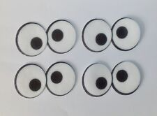 Pre corte Cookie Monster Ojos De Papel De Oblea Comestible Cupcake Toppers X 21