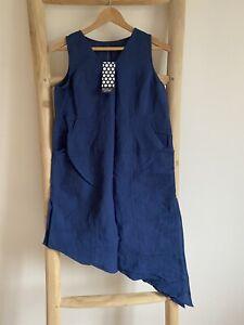 Gudrun Sjoden Cotton  /Linen Dress S (10)