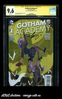 DC Comics - Gotham Academy #1 - Signed by Becky Cloonan - CGC Signature 9.6 NM+