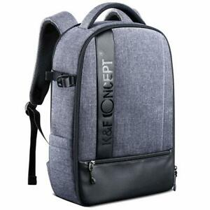 K&F Concept Camera Backpack, Professional Large Waterproof Photography Bag