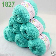 Sale 6 ballsx 50gr DK Baby Soft Cashmere Silk Wool hand knitting Crochet Yarn 27