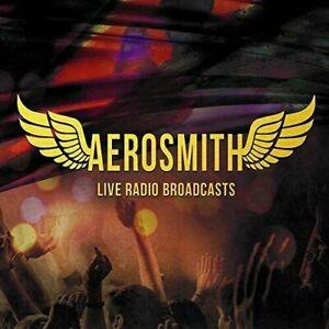 2 CD: AEROSMITH - LIVE RADIO BROADCASTS   NEW