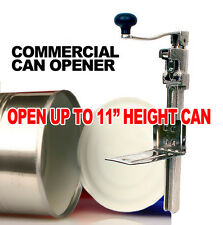 """New MTN #1 Commercial Kitchen Heavy-Duty Restaurant 11"""" Large Can Opener"""