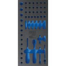 """Werkstattwageneinlage 1/3 leer für 6,3 mm (1/4"""") Steckschlüssel-Satz Art. 4127"""