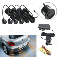 4 Parking Sensors Car Reverse Front & Rear Buzzer Sound Alarm Radar System Kit