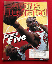 1997 NBA FINALS CHICAGO BULLS MICHAEL JORDAN - GIMME FIVE - Sports Illustrated