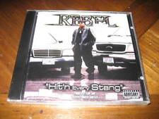 REBEL - Hit'n Every Stang Texas Rap CD - Lil Flip Juan Gotti Too Short Big Hawk