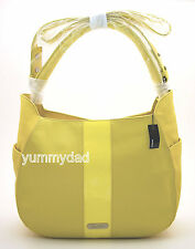 MIMCO LEATHER CRESCENT HOBO BAG IN JONQUIL YELLOW BNWT RRP$450