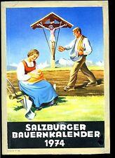 Salzburger Bauernkalender-- 1974 - Kalenderbuch -