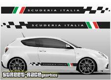 Alfa Romeo Mito 008 racing stripes graphics stickers decals