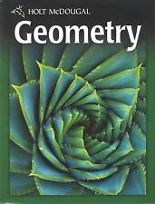 Holt Mcdougal Geometry: Geometry by Holt (2009, Hardcover)