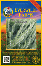 300 Rosemary Herb Seeds - Everwilde Farms Mylar Seed Packet