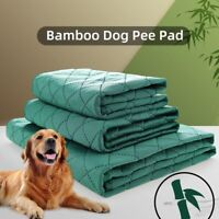 Pet Puppy Dog Training Absorbent Pad Reusable Machine Pee Mat Washable Bed Mat