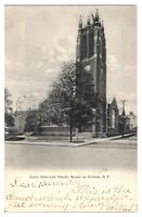 1906 Dutch Reformed Church, Nyack on Hudson, NY Postcard