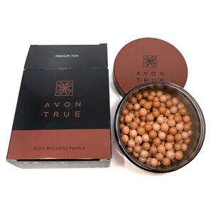AVON True Glow Bronzing Pearls Medium Tan 22g - 0.78oz.