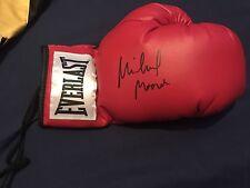 Michael Moorer signed autographed Everlast Boxing glove HOF