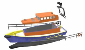 DragonBadger Exclusive 3d print Mersey Class Lifeboat kit 1/72 scale model