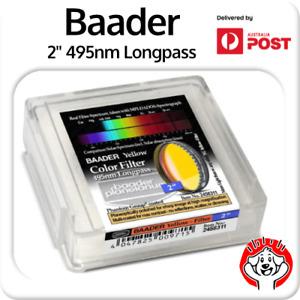 "Baader 2"" 495nm Yellow Longpass CA/Purple Fringe Killer + Clarity #2458311"
