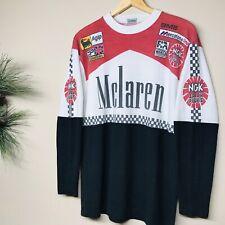 VTG 90S McLaren Formula 1 World Championship Jersey T Shirt Marlboro F1 Racing