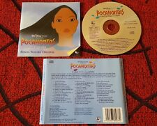 POCAHONTAS **Soundtrack** SPAIN CD 1995 JON SECADA VANESSA WILLIAMS