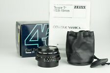 Carl Zeiss Tessar T* 45mm 1:2.8 MM obiettivo lens for Contax Yashica mount MINT
