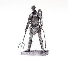 Tin 75mm Rome. Gladiator RETIARIUS 1:24 Scale Miniature