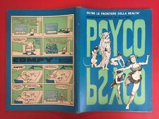 PSYCO n.6 Ed. Naka (1970) Fumetto Originale Buzzelli Guccini Bonvi