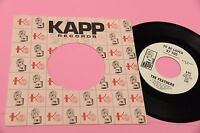 """THE FEATHERS 7"""" GIVE HIM LOVE ORIG 1968 EXè PROMO RADIO STATION COPY !!! RARE"""