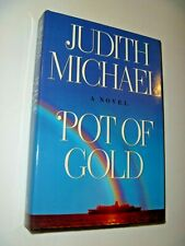 POT OF GOLD - WRITTEN BY JUDITH MICHAEL - VINTAGE HARDCOVER W/JACKET - ROMANCE