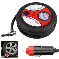 260PSI DC 12V Portable Electric Mini Tire Inflator Air Compressor Car Auto Pump
