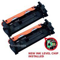 2pack CF217A 17A Toner Cartridge + Chip For HP LaserJet M102 M102a M130fn M130fw