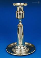 Unusual GEORGE III OLD SHEFFIELD PLATE CANDLESTICK c1790 Traces Silver Gilt