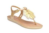 Melissa x Vivienne Westwood Women's Solar Sandals Gold Leaf UK Size 3 Rare