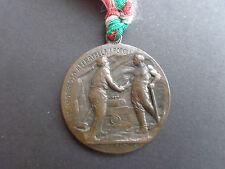 MEDAGLIA GALLERIA DEL SEMPIONE 1898 1905 RICORDO FESTEGGIAMENTI SUBALPINA