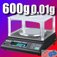 JJ 600g/0,01g Präzisionswaage Laborwaage Digital-waage JJ