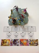 1995 X-Men vs Villains figures Complete Set Hardees Carls Jr Marvel With  Cards