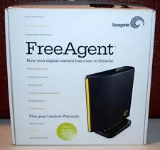NIB SEAGATE FREE AGENT DESKTOP DRIVE  2.0 USB 320 GIGABYTES ~101~