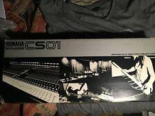 yamaha cs 01 vintage analog synthesizer  with original box