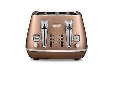 Delonghi Distinta Collection CTI4003.CP 4 Slice Copper Finish Toaster