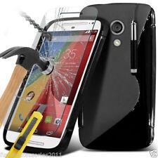 Étuis, housses et coques transparent en silicone, caoutchouc, gel pour téléphone mobile et assistant personnel (PDA) Motorola