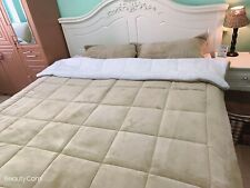 Ethically Sourced 3-Layer Sherpa 3-Piece Queen Comforter Set Support Poor Kid