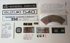suzuki LJ 50 II OR LJ 55 decals