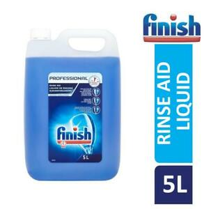 Finish Professional Dishwasher Rinse Aid 5L Prevent Water & Lime Spots
