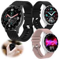 Women Men Smart Watch Fitness Tracker Health Bracelet Call-Reminder Wristwatch