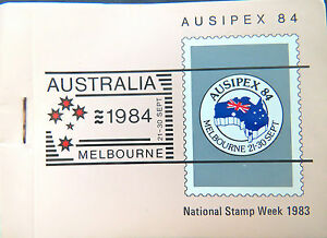 Australian Stamps: Ausipex 1984 - Australian Animals III - Butterflies Booklet