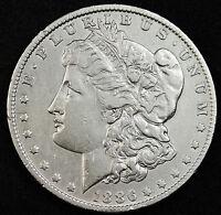 1886-o Morgan Silver Dollar.  High Grade.  (INV-A)