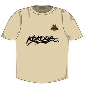 Kokoda 'Golden Staircase' T-Shirt