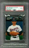1991 Mother's Cookies Nolan Ryan 300 Wins Cello Pack PSA 9 POP 1