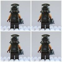 Lord Of The Rings The Hobbit Mordor Soldier Orc Mini Figures use with lego 3